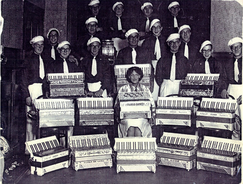 Accordion Band, Gorbals, 1930s