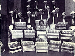 Image titled Accordion Band, Gorbals, 1930s