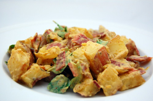 Pink Parsley: Grilled Potato Salad