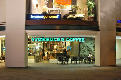 Starbucks in Tanglin Mall