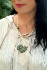 """Snail""  pendant"