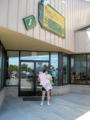 Me outside FMNS in Traverse City.