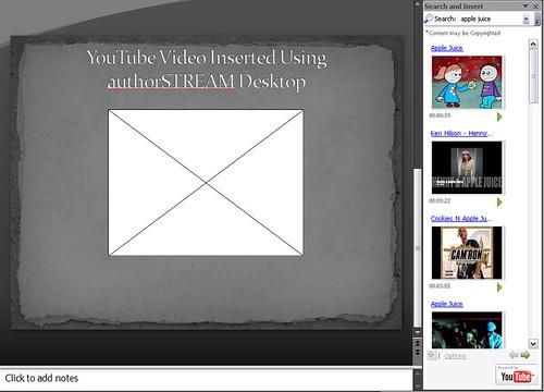 authorSTREAM Desktop - Video Search
