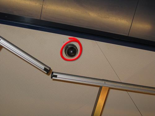 Videokamera Migros Take away, Bahnhof Bern