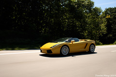 motion yellow speed high highway shot fast spyder lamborghini rolling gallardo