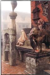 Nepal, Hindu Temple Ritual