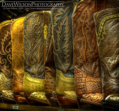 Tutorial Image - Cowboy Boots (my settings)