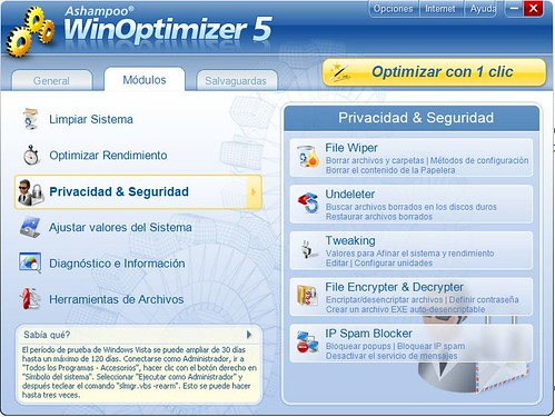 WinOptimizer Gratis