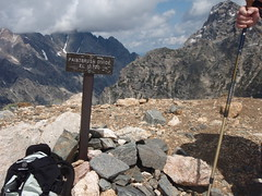 at the top of paintbrush divide 10,700 (audrey_hagen) Tags: tetons cascadecanyon paintbrushcanyon