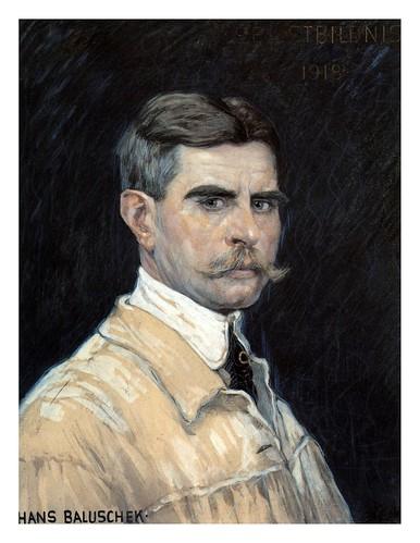 000-autorretrato 1918-Hans Baluschek