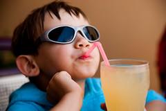Mr Fanta Fanta (!Shot by Scott!) Tags: sunglasses sony straw crete miles alpha 2009 900 fanta sisi scottlewis allrightsreserved scottlewis