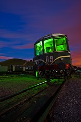 IMG_0005 raw edit.jpg (night photographer) Tags: travel light night canon painting bristol temple photography eos long exposure mark transport rail trains ii 5d railways musem meads