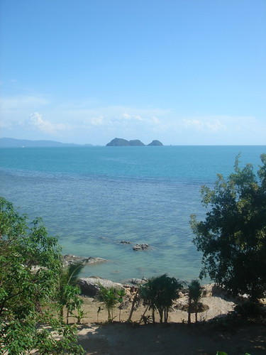 Looking to the southern end of Ao Seethanu, Ko Pha Ngan