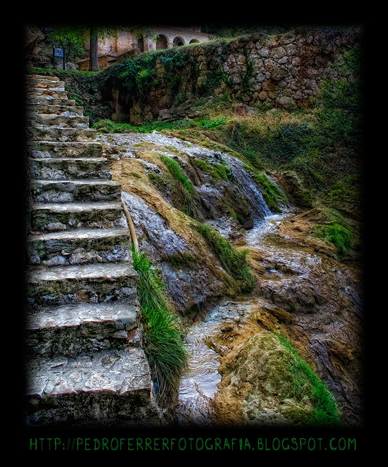 Tobera - cascadas del rio Molinar