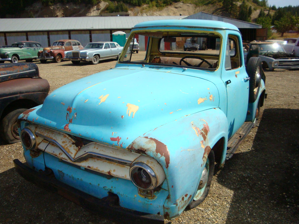 The Worlds Most Recently Posted Photos Of F100 And Parts Flickr 1955 Ford Project F 100 Custom Cab Pickup Truck Tags Auto Old