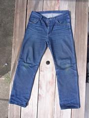 Raw Denim (doctah) Tags: digital raw indigo august whiskers jeans denim fade gr ricoh 2009 grd honeycombs aug09