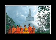 Bouddhist Monks (deen.anver) Tags: sri lanka monks anuradapura