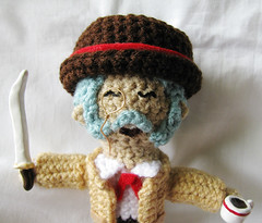 Finished Henry Hatsworth plushie 2