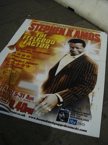 Stephen K. Amos's Broken Dream