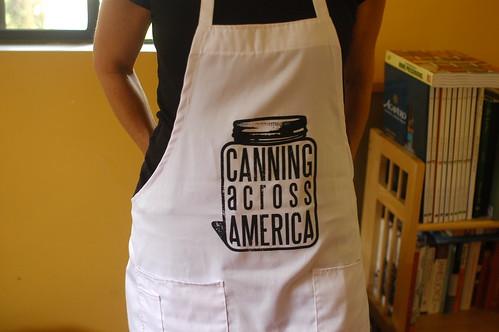 canning apron