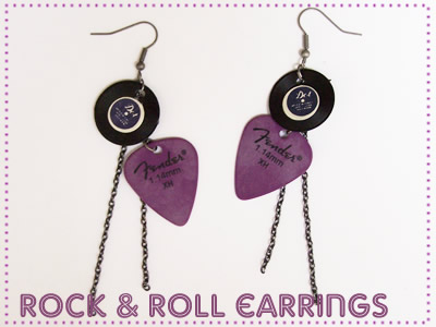 Rock & Roll Earrings