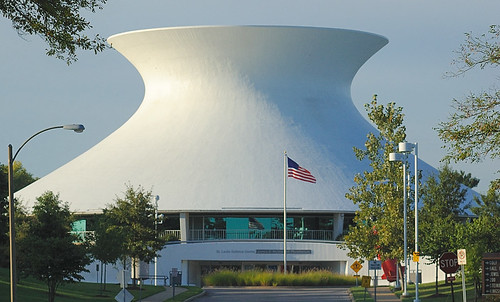 Planetarium, in Forest Park, Saint Louis, Missouri, USA