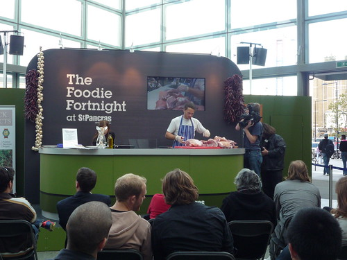 Foodie Fortnight at St Pancras by you.