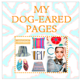 MY DOG-EARED PAGES - BUTTON
