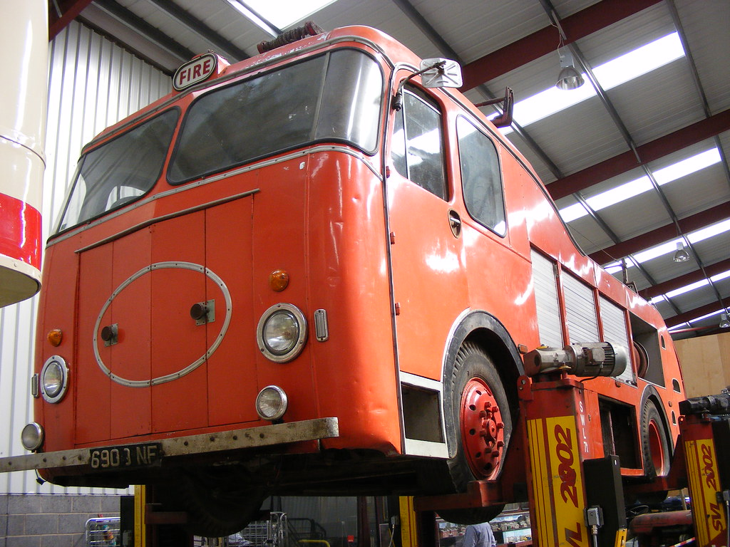 Fire Service: Leyland Firemaster 6900NF South Yorkshire Transport Museum