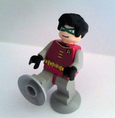 Magnet Suit Robin (burakki62) Tags: robin lego suit minifig custom magnet legobatman magnetsuit