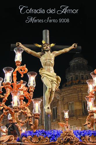Cartel Martes Santo 2009 Cofradía del Amor
