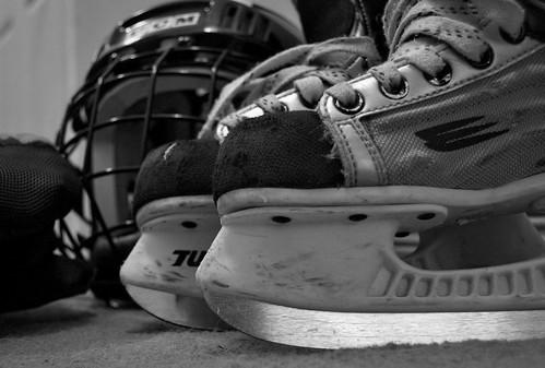 249:365 Hockey skates
