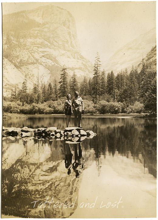 Harold Bateman Roberts_Yosemite Valley_1930s_tatteredandlost