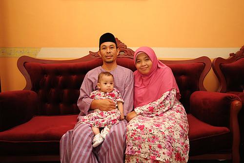 Pak Alang, Mak Alang dan Baby Erina