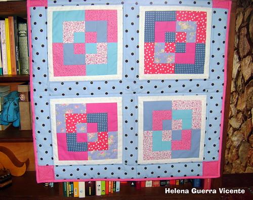 Bento box baby quilt