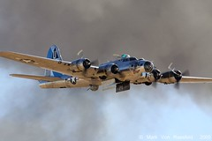 B-17G Sentimental Journey (mvonraesfeld) Tags: show house flying open force aircraft aviation air wwii explore b17 journey edwards bomber fortress caf warbird commemorative sentimental afb img1891