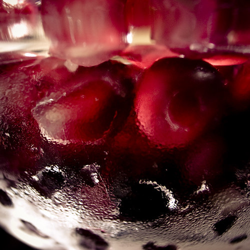 Pomegranate Succlulent Arils in a Bowl