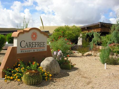 Carefree Resort & Villas entrance