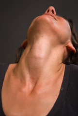 Sexy neck and throat