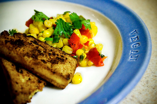 Southwestern Tofu and Corn Relish
