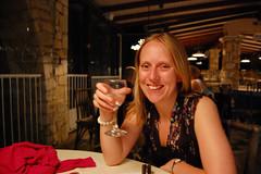 Rachel has a drink (Matt Taylor) Tags: holiday greece syvota