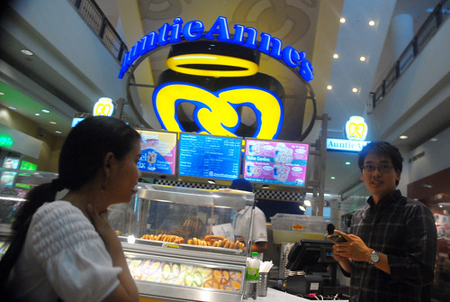Our Big Boss Tim Getting Auntie Annes!