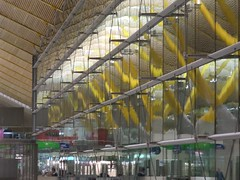 Madrid Airport Reflections (Wurzel) Tags: madrid reflections airport spain terminal aeroportodemadridbarajas thingsyoutakephotosofwhenboredwaitingforyourconnectingflight