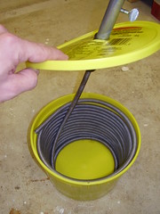 Snake in a bucket