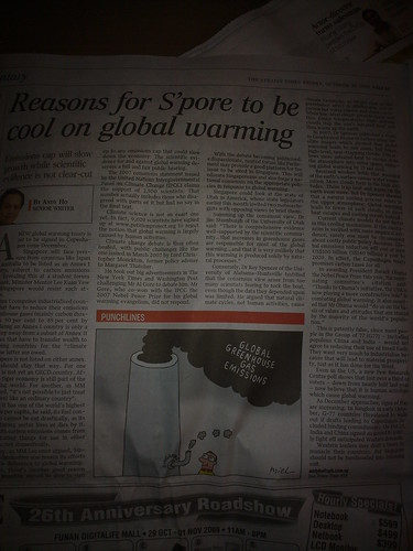 Singapore doesn't believe in climate change