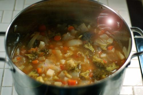 actual homemade soup
