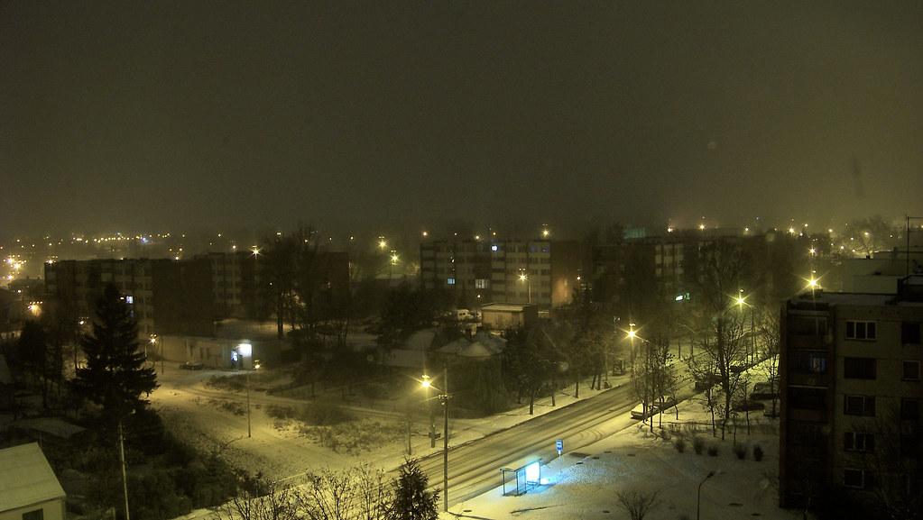 First snow / Pirmas sniegas