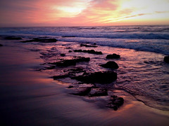 iPhone photo - 20/365 - garie beach sunrise (alexkess) Tags: park beach royal national iphone garie iphone365 raysrocks