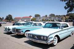 """(Blurry Photo Series) """"Live"""" From The Presidio - Ford Edsel And Other Classic Cars (raider3_anime) Tags: sanfrancisco ford photo blurry edsel invasion presidio classiccars toysoldiers ontour drsteel waltdisneyfamilymuseum raider3"""