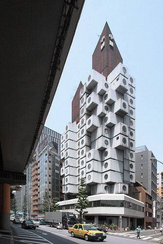 Nakagin Capsule Tower Building